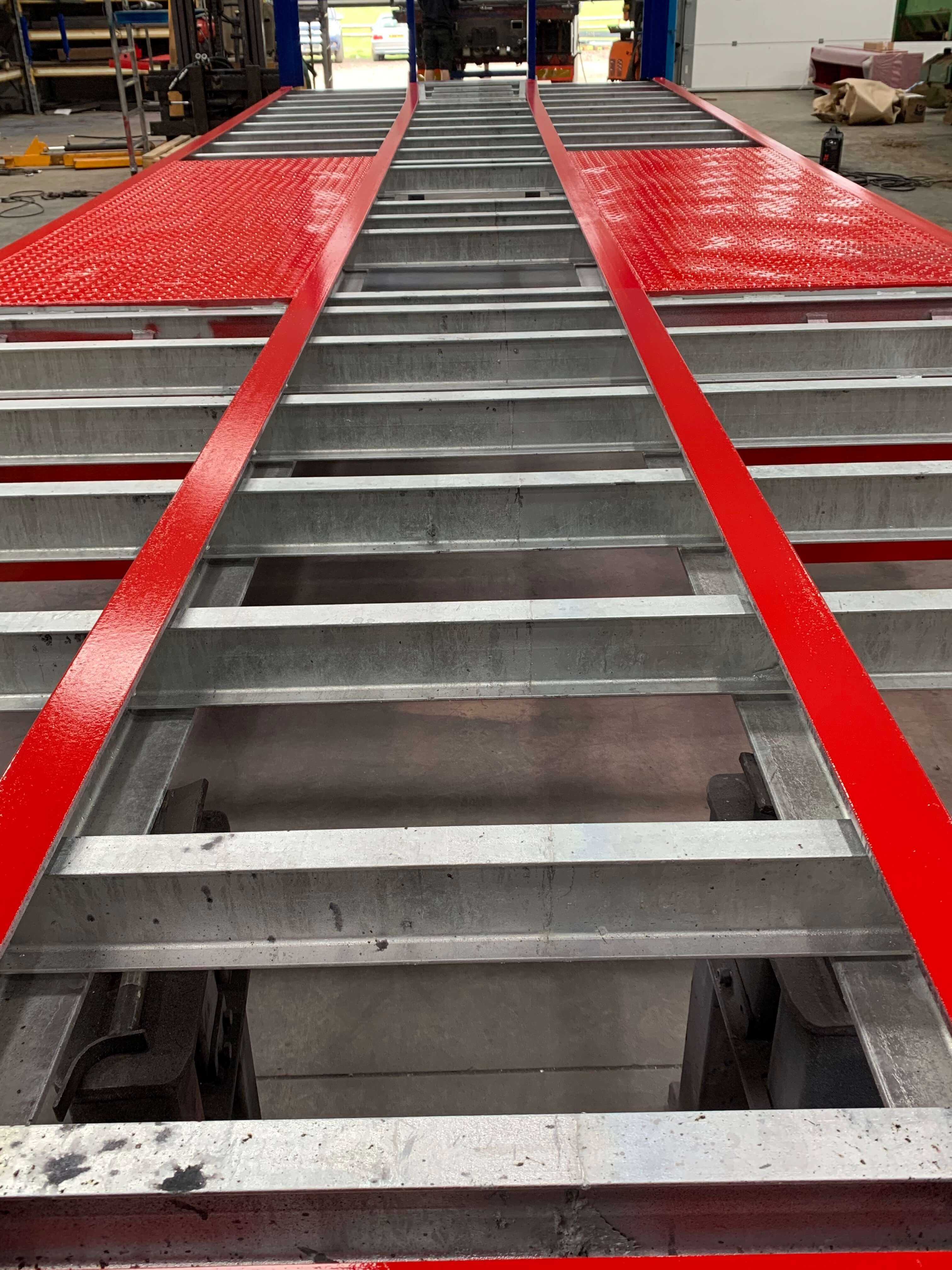 Galvanised Lorry Bodies and Trailers