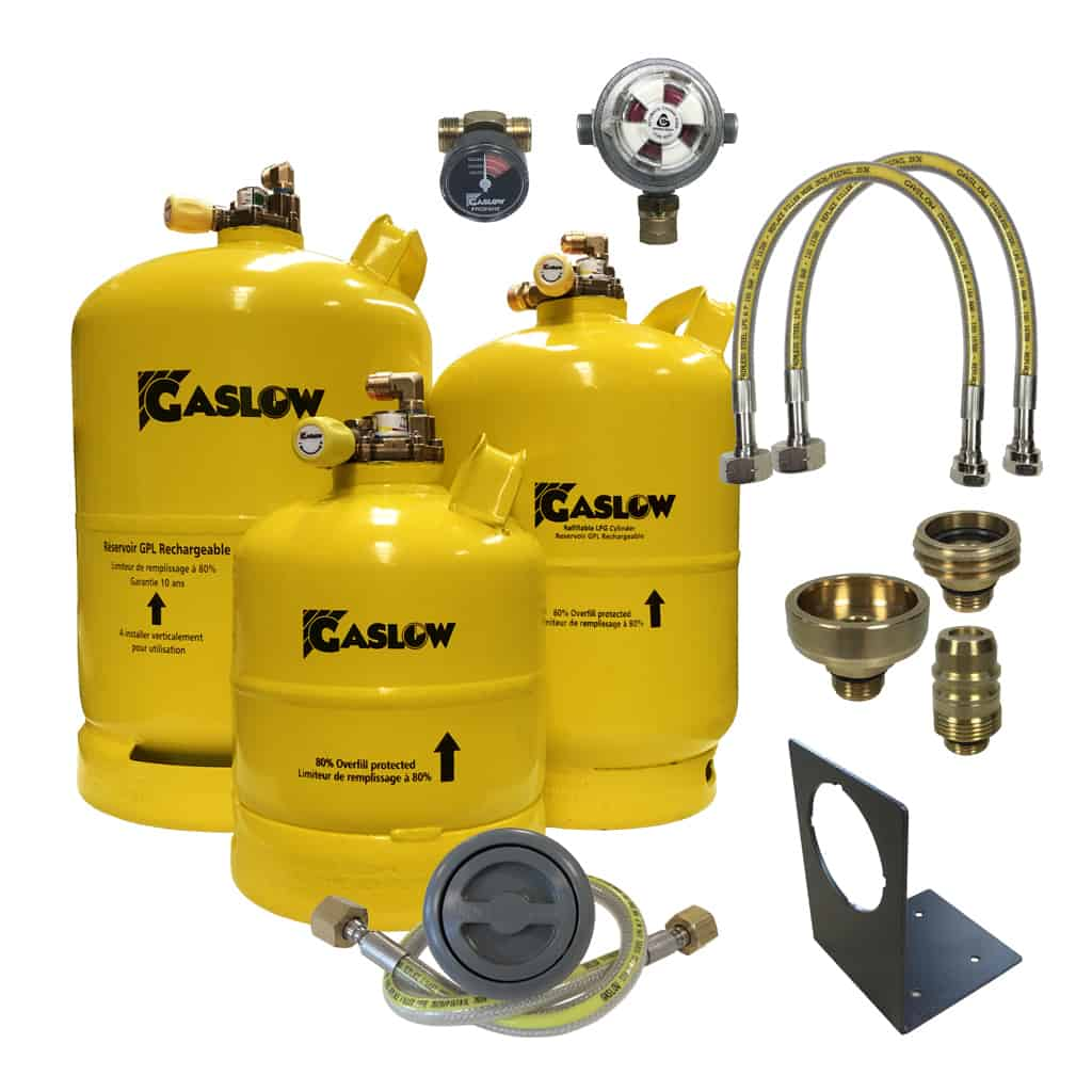 Gaslow Refillable Cylinder Systems